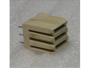 3芯电源直式PCB压接母端(过9A电流)